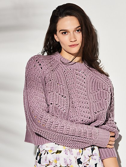 Villa Sweater with Recycled Polyester - New York & Company
