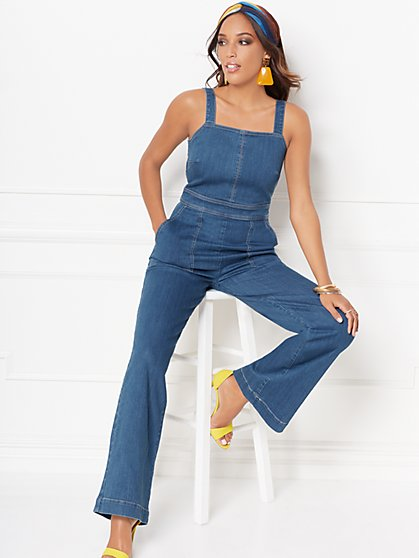 Wendi Denim Jumpsuit - Eva Mendes Collection - New York & Company