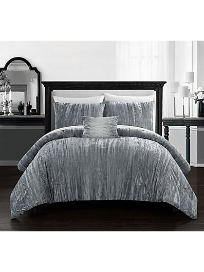 Westmont Queen-Size 4-Piece Comforter Set - NY&C x Chic Home - New York & Company