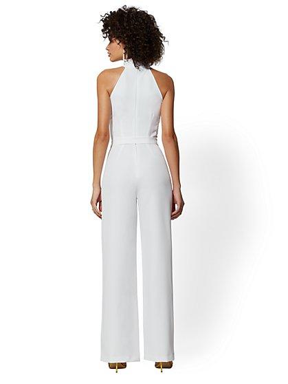 329e8c03b24 ... White Halter Jumpsuit - New York   Company