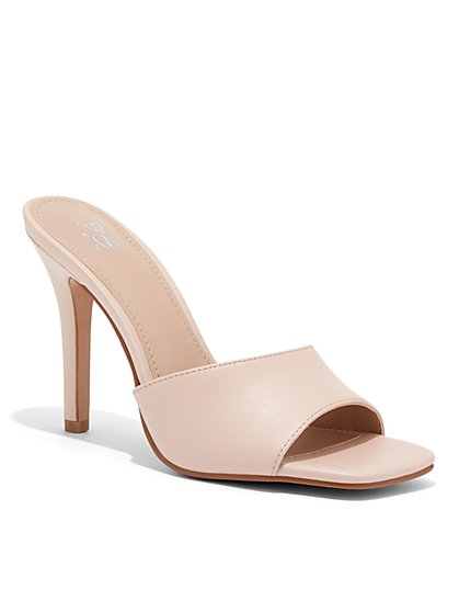 White High-Heel Sandal - New York & Company
