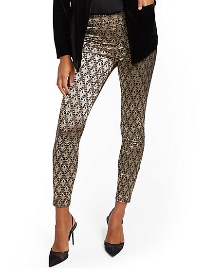 Whitney High-Waisted Pull-On Pant - New York & Company