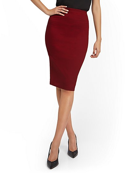 Whitney High-Waisted Skirt - New York & Company