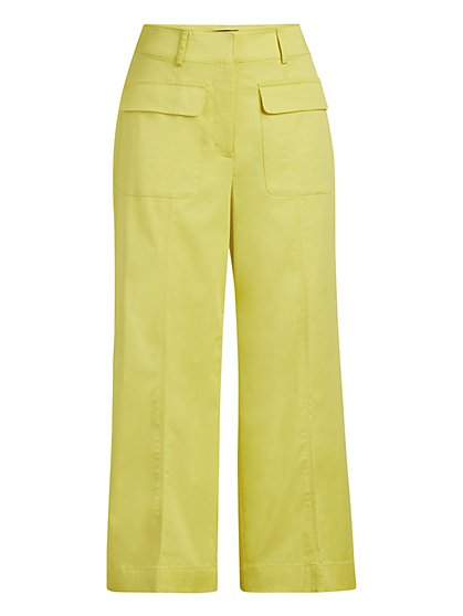Wide-Leg Capri Pant - 7th Avenue - New York & Company