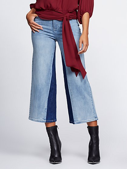 Wide-Leg Jeans - Gabrielle Union Collection - New York & Company