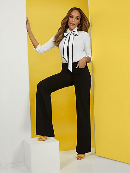 Wide-Leg Pant - Superflex - New York & Company