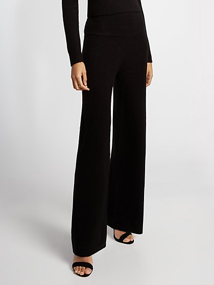 Wide-Leg Sweater Pant - Gabrielle Union Collection - New York & Company