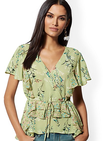 Wrap Blouse - New York & Company