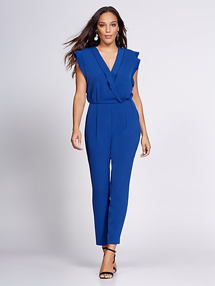 Wrap Jumpsuit - Gabrielle Union Collection - New York & Company