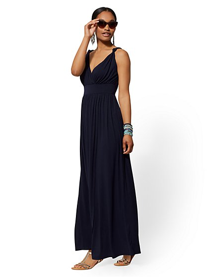 Wrap Maxi Dress - Soho Street - New York & Company