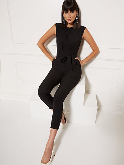 51c5c17ee Wrap Overlay Madie Jumpsuit - 7th Avenue - New York & Company ...