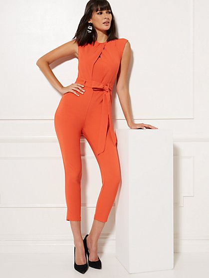 Wrap Overlay Madie Jumpsuit - 7th Avenue - New York & Company