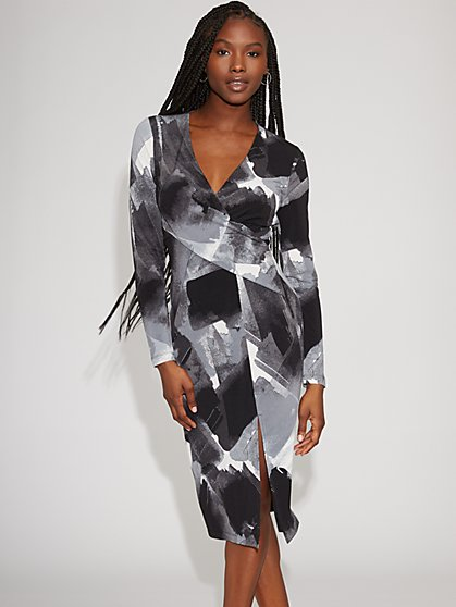 Wrap Sheath Dress - Gabrielle Union Collection - New York & Company