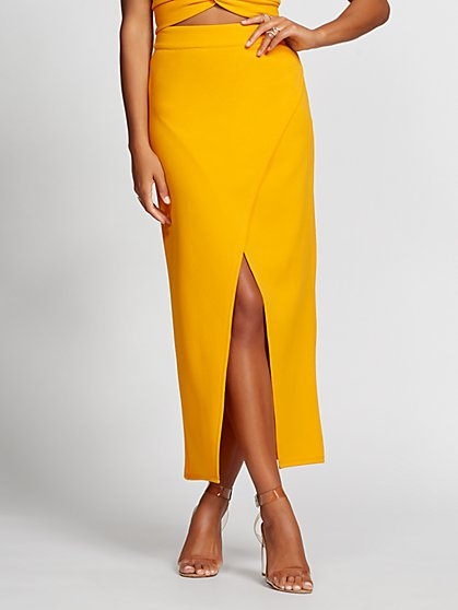 bed43d0364 Wrap Skirt - Gabrielle Union Collection - New York   Company ...
