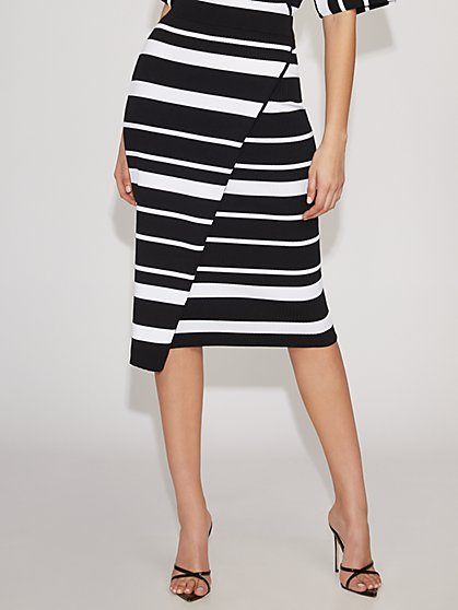 Wrap Sweater Skirt - Gabrielle Union Collection - New York & Company