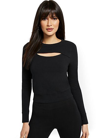 Yoga Cutout Top - New York & Company