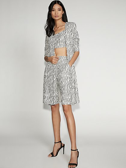 Zebra-Print Duster - Gabrielle Union Collection - New York & Company
