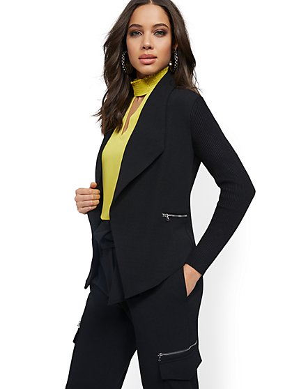 Zip-Accent Jacket - 7th Avenue - New York & Company