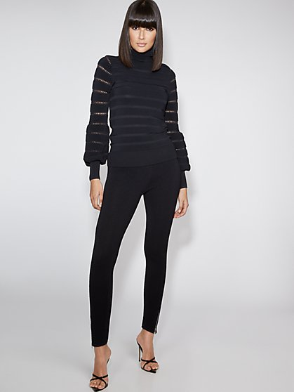 Zip-Accent Jogger Pant - Gabrielle Union Collection - New York & Company