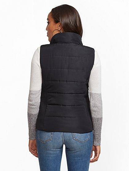 ba99bef60 ... Zip-Front Puffer Vest - New York & Company