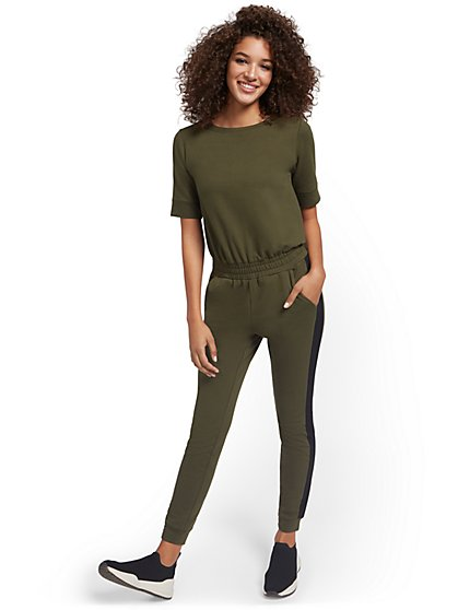 Zipper-Back Jumpsuit - New York & Company